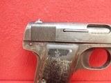 FN Browning Model 1922 .32ACP Semi Auto Pistol w/ 9rd magazine - 3 of 20