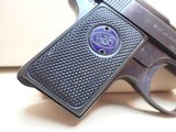 "Walther Model 9 Vest Pocket .25ACP 2"" Barrel Blued Semi Auto Pistol 1921-45mfg ***SOLD*** - 2 of 18"