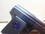 "Walther Model 9 Vest Pocket .25ACP 2"" Barrel Blued Semi Auto Pistol 1921-45mfg ***SOLD*** - 3 of 18"