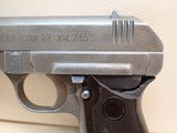 "CZ Pistole Modell 27 7.65mm (.32ACP) 3.75"" Barrel Nazi Marked WWII Semi Automatic Pistol - 11 of 23"