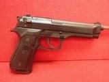 """Beretta 92FS 9mm 5"""" Barrel Matte Black Finish Semi Auto Pistol w/10rd Mag"""