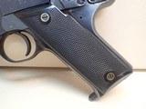 "High Standard Model C .22 Short 4.5"" Barrel Blued Finish Semi Auto Pistol 1932-38mfg - 7 of 16"