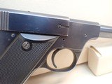 "High Standard Model C .22 Short 4.5"" Barrel Blued Finish Semi Auto Pistol 1932-38mfg - 4 of 16"
