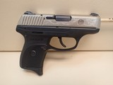 "Ruger LC9 Limited Edition Deluxe Silver Engraved 9mm 3"" Barrel Semi Auto Pistol w/ 2 Mags, Holster"