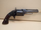 """Smith & Wesson Model One-And-A-Half First Issue .32 Rimfire 3.5"""" Barrel Revolver 1865-1868"""