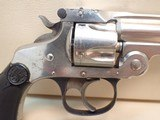 """Smith & Wesson .32 Double-Action .32 S&W 3"""" Barrel Nickel Finish Revolver - 3 of 17"""