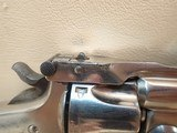 """Smith & Wesson .32 Double-Action .32 S&W 3"""" Barrel Nickel Finish Revolver - 4 of 17"""