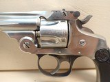 """Smith & Wesson .32 Double-Action .32 S&W 3"""" Barrel Nickel Finish Revolver - 8 of 17"""
