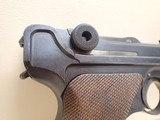 "DWM Artillery Luger 1917 9mm 7-7/8"" Barrel Semi Automatic Pistol w/Matching Magazine - 3 of 23"