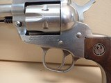"""Ruger Single Six .22cal 5.5"""" Barrel Stainless Steel Single Action Revolver 1975mfg - 7 of 20"""
