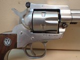 """Ruger Single Six .22cal 5.5"""" Barrel Stainless Steel Single Action Revolver 1975mfg - 3 of 20"""