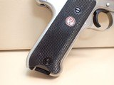 """Ruger Mark III Target .22LR 5.5"""" Barrel Stainless Steel Pistol w/Box, Two Mags - 2 of 18"""