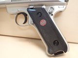 """Ruger Mark III Target .22LR 5.5"""" Barrel Stainless Steel Pistol w/Box, Two Mags - 7 of 18"""