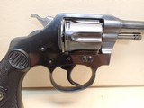 "Colt Police Positive First Issue .32 New Police 6"" Barrel Blued Finish Revolver 1917mfg - 3 of 21"