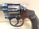 "Colt Police Positive First Issue .32 New Police 6"" Barrel Blued Finish Revolver 1917mfg - 8 of 21"