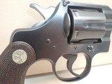 "Colt Officers Model Target .38spl 6"" Heavy Bbl Blued Revolver 3rd Issue 1920mfg - 3 of 19"