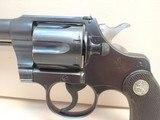 "Colt Officers Model Target .38spl 6"" Heavy Bbl Blued Revolver 3rd Issue 1920mfg - 8 of 19"