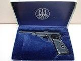 """Beretta Model 74 .22LR 6""""bbl Target Pistol w/Box"""