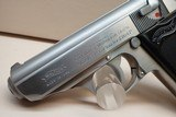 """Walther (Interarms) PPK .380ACP 3.25""""bbl SS Pistol w/2 Mags - 9 of 17"""