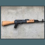Custom Built AK-47 with Actual Kalashnikov Receiver