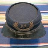 SPANISH-AMERICAN WAR PERIOD INDIANA OFFICER'S KEPI