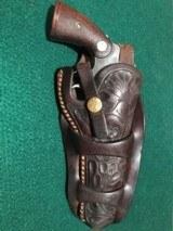 Colt Officers Model 38 w/Heiser Denver Floral Holster