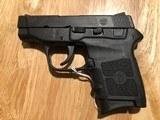 SMITH AND WESSON Bodyguard 380 semi auto pistol