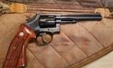Smith & Wesson Model 17 No Dash .22 Cal