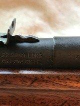 Remington 33 Bolt action single shot 22 rifle - 11 of 11
