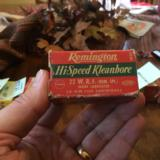 22 W.R.F. (Remington Special) not LR or Magnum...Scarce. Full box