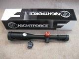 Nightforce NXS 5.5-22x50mm MOAR w/ Zero Stop C433