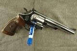 Smith & Wesson Model 29 (no dash) .44 Magnum Revolver in Nickel (1958-1959) - 1 of 15