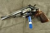 Smith & Wesson Model 29 (no dash) .44 Magnum Revolver in Nickel (1958-1959) - 2 of 15