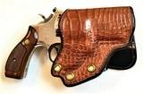 "Smith & Wesson Model 19-3 ~ .357 Magnum ~ 2 1/2"" Barrel w/ Custom Alligator Paddle Holster - 7 of 7"