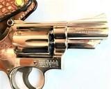 "Smith & Wesson Model 19-3 ~ .357 Magnum ~ 2 1/2"" Barrel w/ Custom Alligator Paddle Holster - 5 of 7"