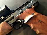 "Browning Buck Mark Silhouette Semi-Auto Pistol ~ 22 LR ~ 9 7/8"" Barrel ~ Simmons Red Dot - 4 of 13"