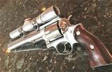 "Ruger Redhawk ~ .44 Mag ~ 7.5"" Barrel with Leupold M8-2X Pistol Scope"