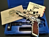 Springfield P9 World Cup ~ 9mm Semi-Auto Pistol with Aimpoint 5000 Mag Dot Scope