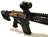 "AR10 Custom .308 Caliber ~ 10.5"" Rifle with Binary Trigger"
