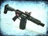 "AR15 Custom .223/5.56 Caliber ~7.5"" Pistol with Binary Trigger - 1 of 10"