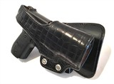 Sig Sauer P229 ~ .40 S&W / .357 Convertible w/ Black Alligator Holster - 2 of 9