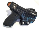Sig Sauer P229 ~ .40 S&W / .357 Convertible w/ Black Alligator Holster - 5 of 9