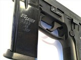 Sig Sauer P229 ~ .40 S&W / .357 Convertible w/ Black Alligator Holster - 8 of 9