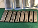 Sig P-229 mags. 8 are marked Sig 229 and 4 are marked Mec-Gar