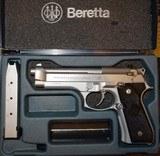 BERETTA (ITALY) 92FS INOX