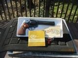Colt Diamondback 22 LR 6 inch barrel never fired