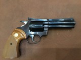 "Colt Diamondback .22 Calbier 4"" barrel colt factory original"