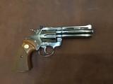 Colt Diamondback .22 Caliber Bright Nickel un-fired Colt Factory original