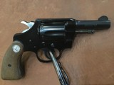 """Colt Cobra light weight .38 special 3"""" barrel first issue S/N 142102"""