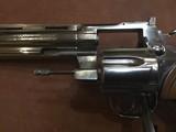 "Colt Python .357 Mag. Bright Nickle finish 6"" Barrel"